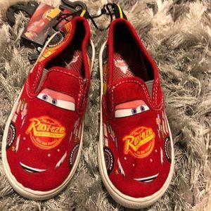 Disney lightening McQueen sneakers